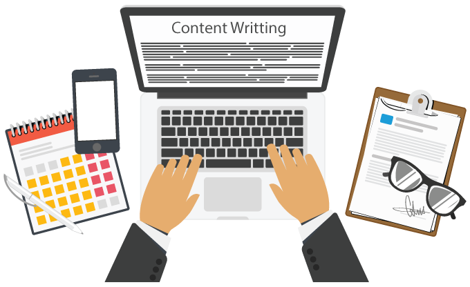 Content writing image