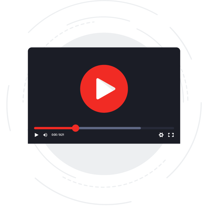 Video being optimized to load faster.