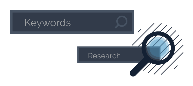 Relevant keywords in searches